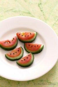 karpuz mu? salatalık domates mi?