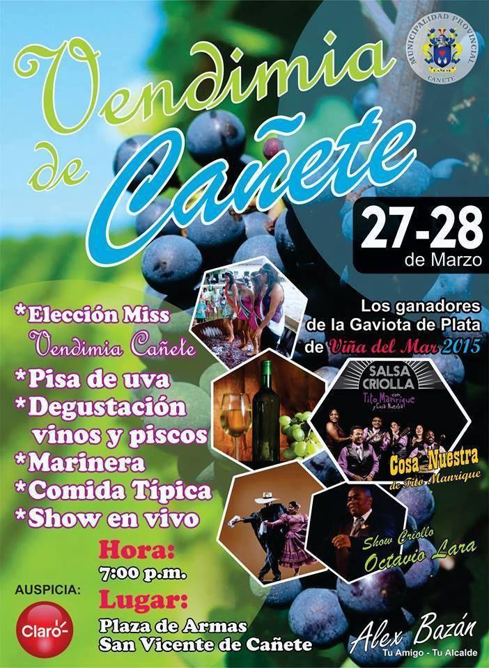 Vendimia en Cañete