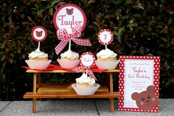 Teddy Bear Picnic Birthday Party Collection- ON SALE on Etsy, $30.17 AUD