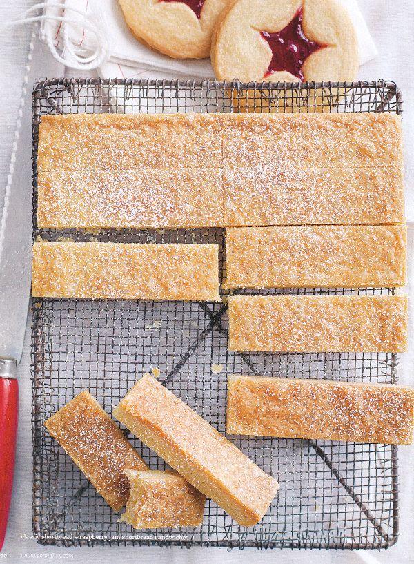 dustjacket attic: Jam Drops | Shortbread | Chocolate Brownies