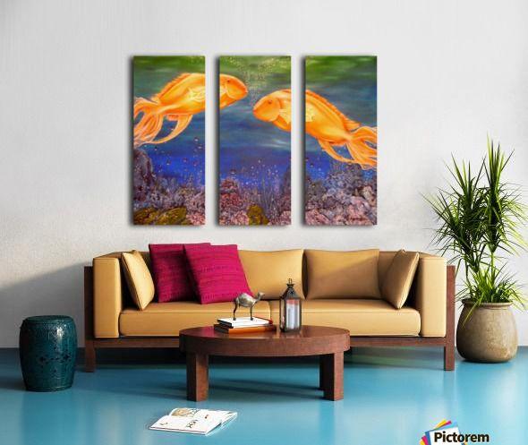 Wildlife, painting, fish, ocean