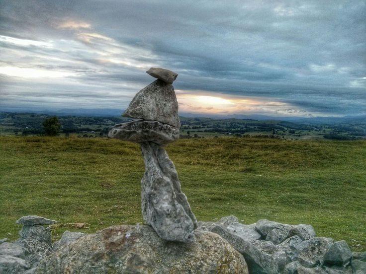 Rock Balancing, Cunswick Scar near Kendal