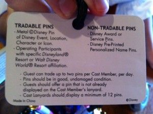 Disney Pin Trading Tips @Heather S thought of you and what we were talking about this morning!