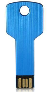32 GB USB Speicherstick 2,0 Flash Disk Drive Schlüsselform, blau