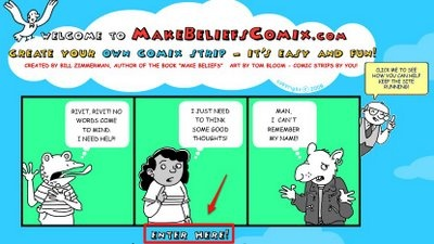 Create Your Own English Comic Strip by Nik Peachey