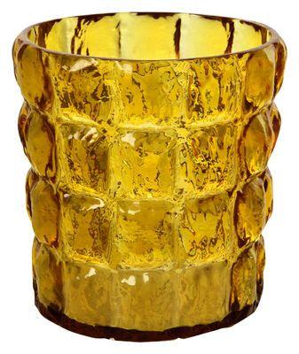 #Vaso matelasse di kartell ambra trasparente  ad Euro 82.00 in #Kartell #Interni cestini e centrotavola