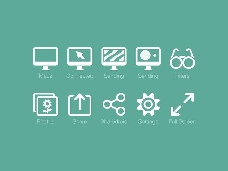 Skala View 2 toolbar icons, final by Marc Edwards ✎ Bjango