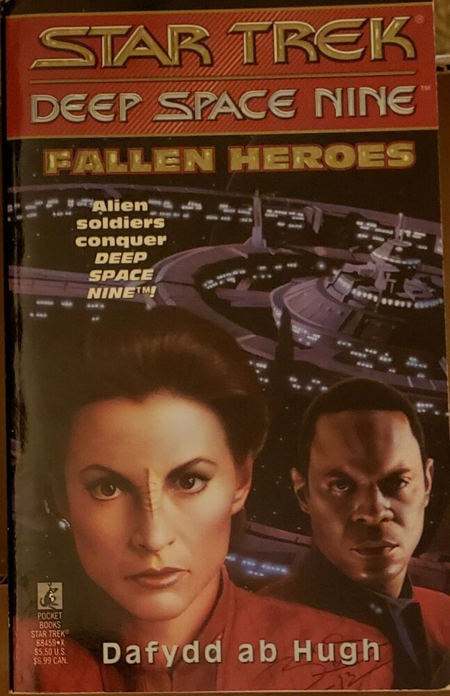 Fallen Heroes Star Trek Deep Space Nine No 5 By Ab Hugh Dafydd Pb 1994 In 2020 Fallen Heroes Heroes Book Star Trek Ds9