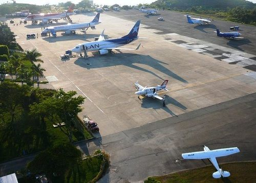 Palonegro International Airport. This airport serves Bucaramanga, capital of the Santander department, #Colombia. Visit our website: http://www.going2colombia.com/