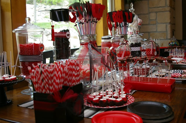 Graduation Party Ideas Graduation Party Ideas Black And Red