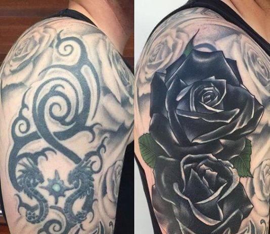 Tattoo Ideas 38 Clever Cover Up Tattoo Ideas September 11 2016 Rose Tattoo Cover Up Cover Up Tattoos For Women Cover Up Tattoos