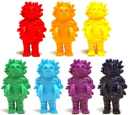 Marusan M-Pop Series - Pigimon Figures in  ROYGBIV