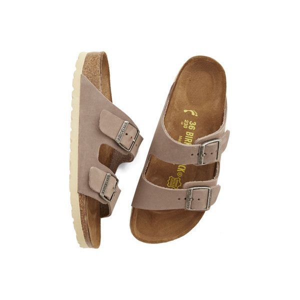 Birkenstock Boho Strappy Camper Sandal ($120) ❤ liked on Polyvore featuring shoes, sandals, slide, no-thong slide, tan, tan sandals, tan hiking boots, leather strap sandals, tan leather sandals and double-strap sandals