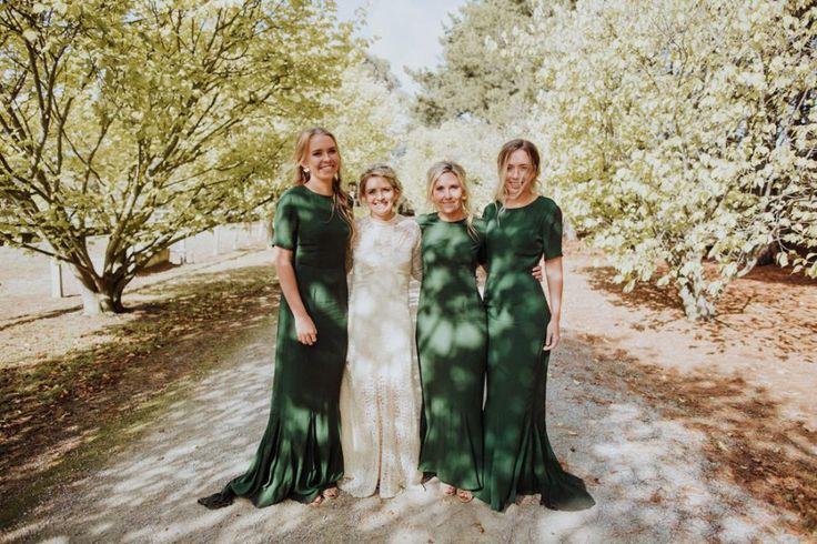 olive green bridesmaid dresses