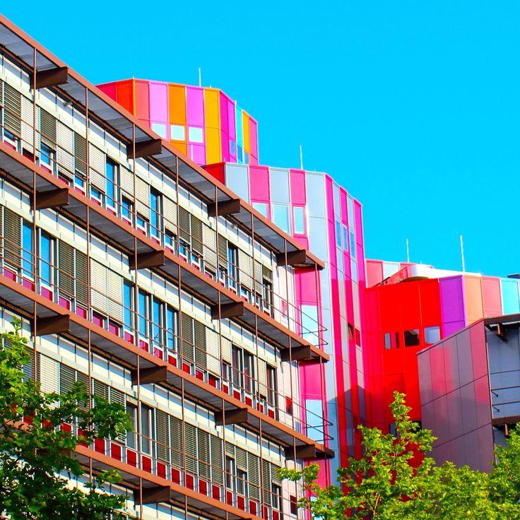 A pretty view of university of Duisburg Essen.