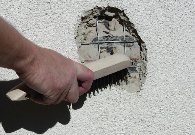 25 best ideas about stucco houses on pinterest white - How to repair stucco exterior wall ...
