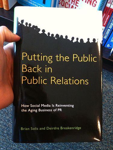 PR   Putting the Public Back in Public Relations.