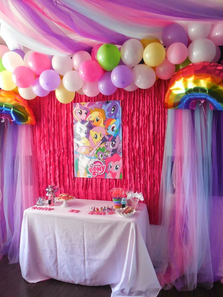 This Home of Ours - with a Jewish twist: My little pony party