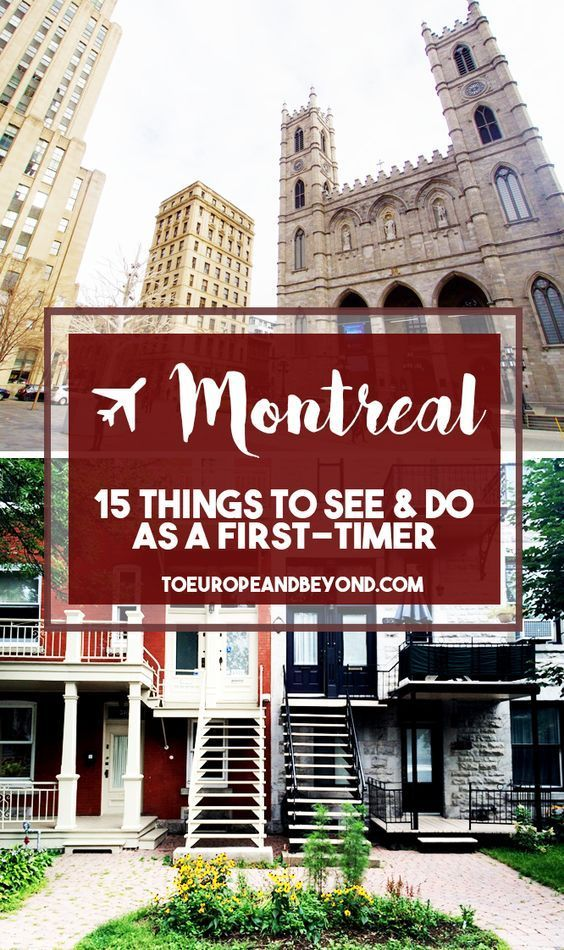A local recommends 15 things to do in #Montreal for first-time visitors - including where to eat, drink, shop, and more.