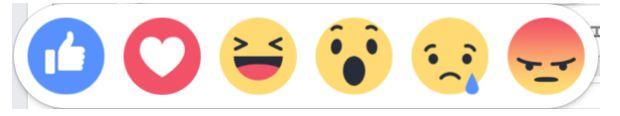 Facebookに実装された「超いいね!」など5つのボタン 英語や関西弁ではどんな表記?