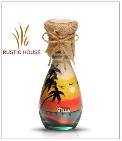 Begonia for sand art bottles. RUSTIC HOUSE sand art bottle