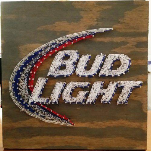 Amazon.com: Bud Light String Art Sign, Made to Order: Handmade