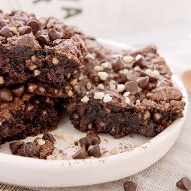 chewy gooey brownies