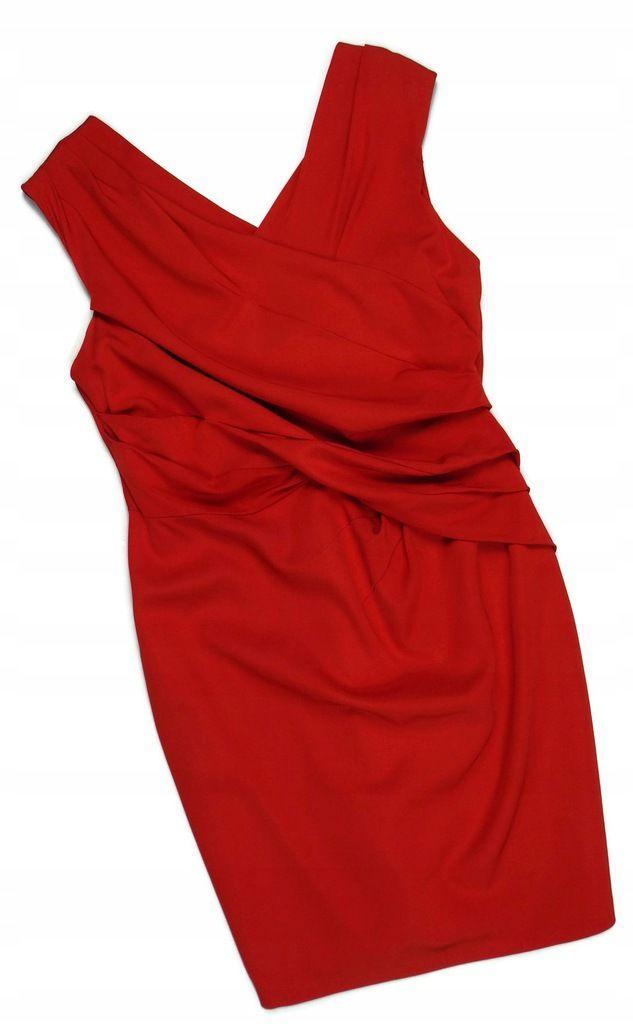 Coast Tomato Klasyczna Elegancka Olowkowa Lato 46 7979345149 Oficjalne Archiwum Allegro One Shoulder Dress Fashion Shoulder Dress