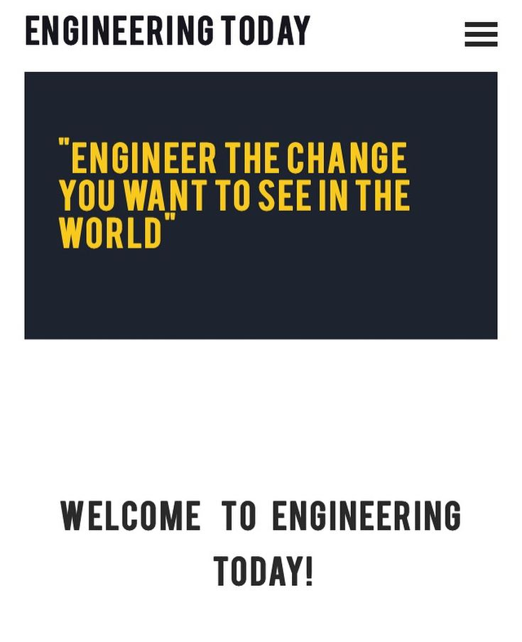 Had a complete overhaul with the site so please check out our new look blog with some short interesting articles in all things science and engineering! Engineering-today.com . Link in bio. . . #engineeringtoday #architecture #civilengineering #engineering #space #rocketscience #mechanicalengineering #technology  #spacex #engineers #engineerlife #mechanics #engineeringchange #science #scienceandtechnology #blackmirror #engineeringmemes #bestof #photooftheday #bestof2018 #photooftoday…