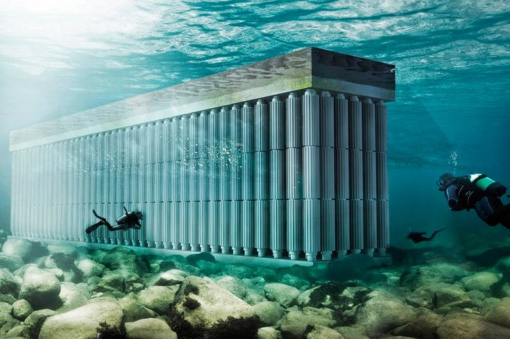 Альтернативные источники энергии: морские волны итечения