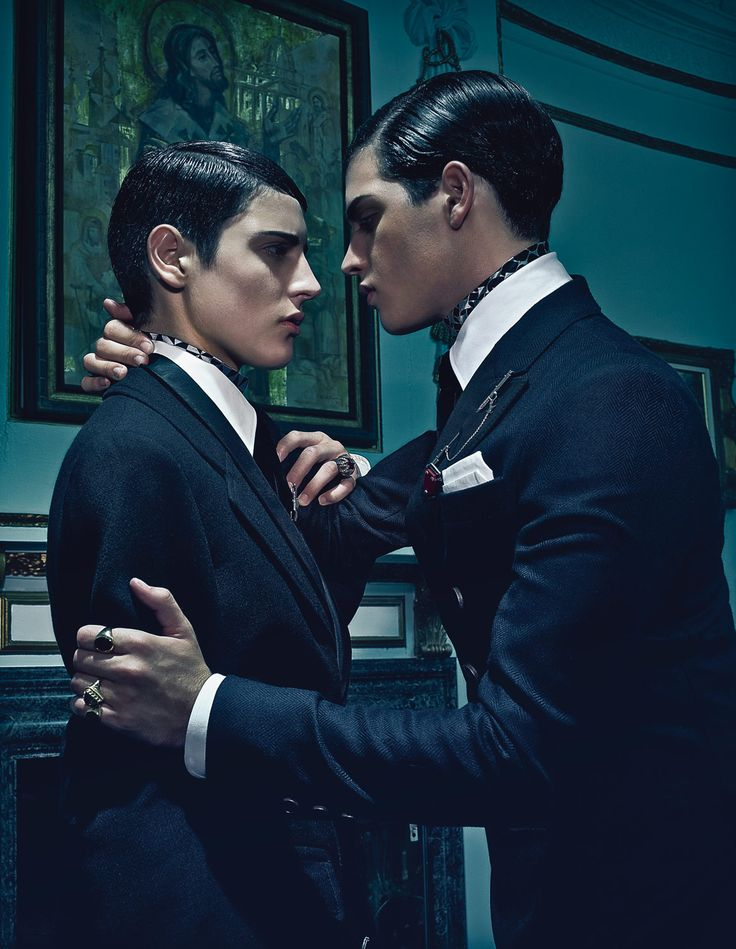 The Brant Brothers by Steven Klein