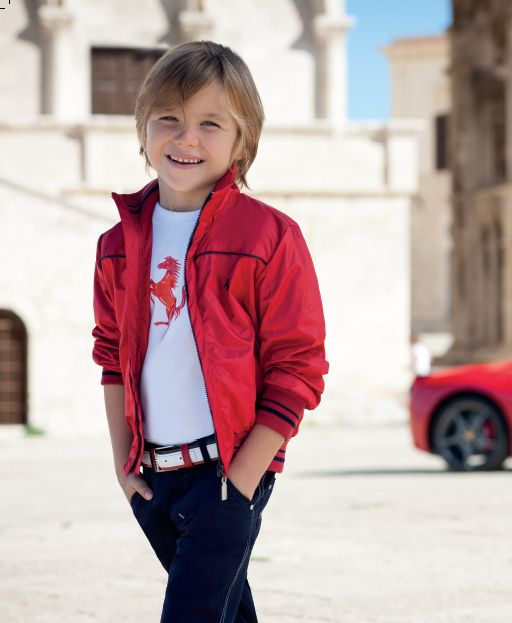 The Ferrari Kids Jackets Of This Collection Are The Ideal