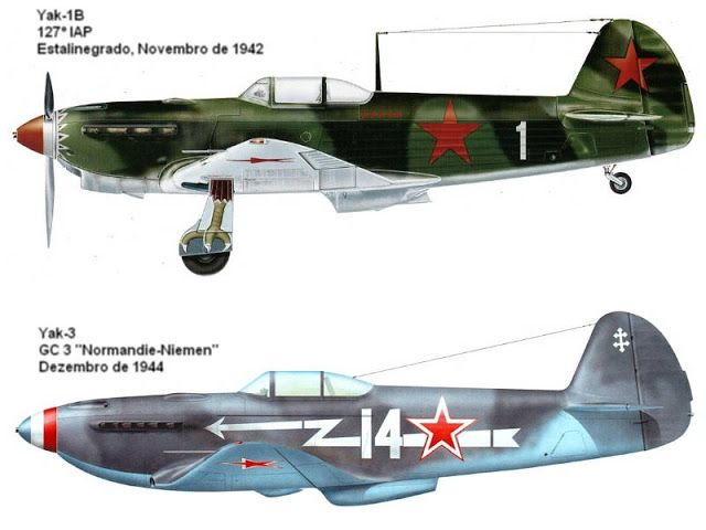 Avioes Militares Yakovlev Yak 9 Cacas Yak Com Motor De Pistao