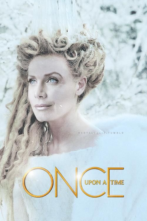 Elizabeth Mitchell as The Ice Queen made by @frozenfeather I want this to be true