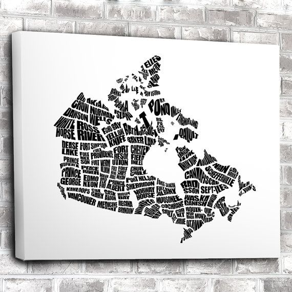 18 best Black and White Word Maps and Typography Posters images on
