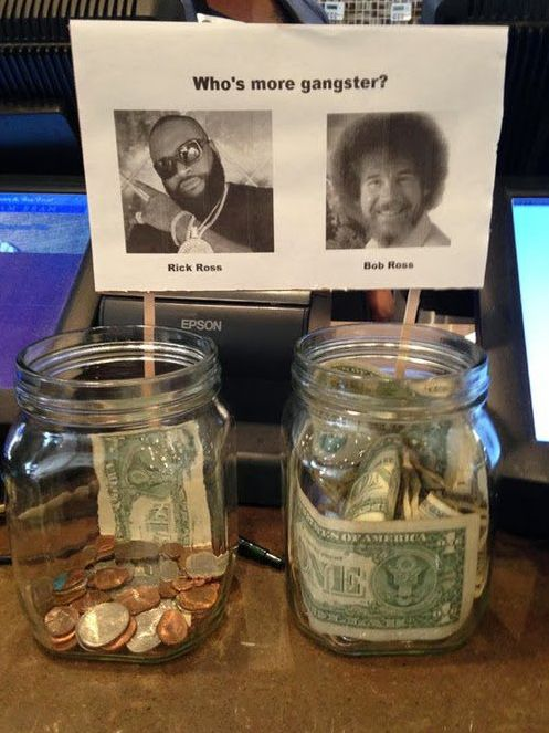 Well this one is easy. | 35 Tip Jars That Deserve Your Money