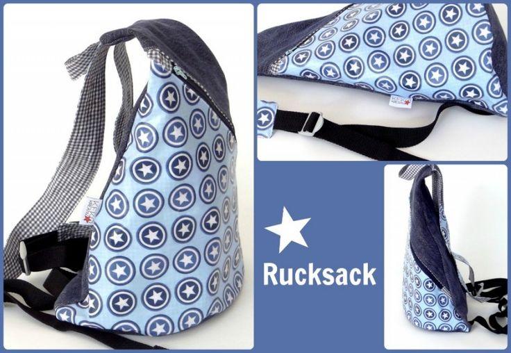 Keko-Kreativ: Rucksack, pattern by farbenmix.de Taschenspieler2-CD #sewing #nähen #diy #pattern
