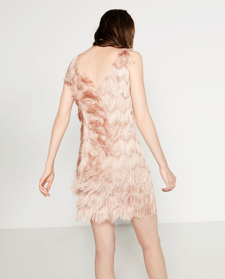 FRINGED DRESS-View All-DRESSES-WOMAN | ZARA Finland