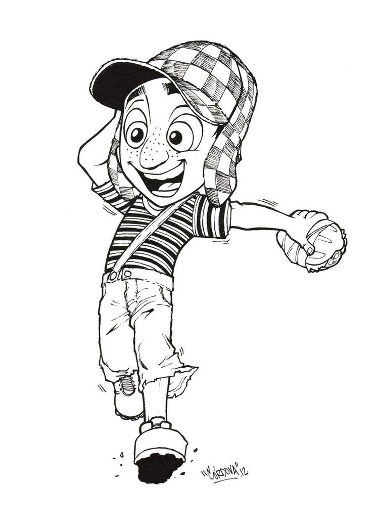 29 best images about el chavo del 8 on pinterest for Chavo del ocho coloring pages