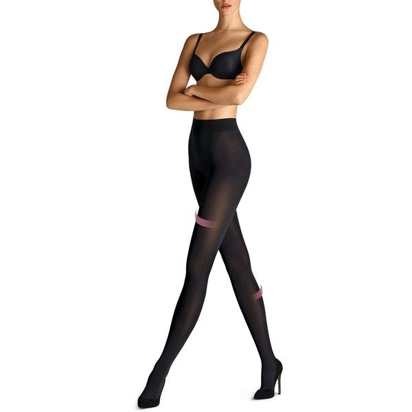 Wolford Velvet 66 Support Tights ($67) ❤ liked on Polyvore featuring intimates, hosiery, tights, black, wolford, wolford pantyhose, wolford hosiery, wolford tights and velvet tights