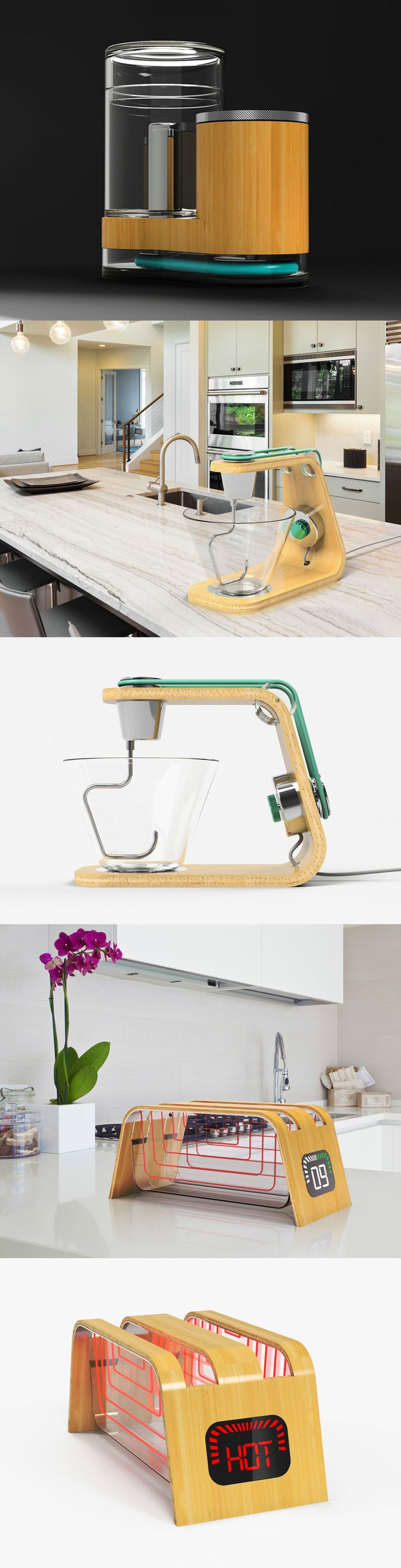 Amazing neat simple and yet sophisticated design for home appliances