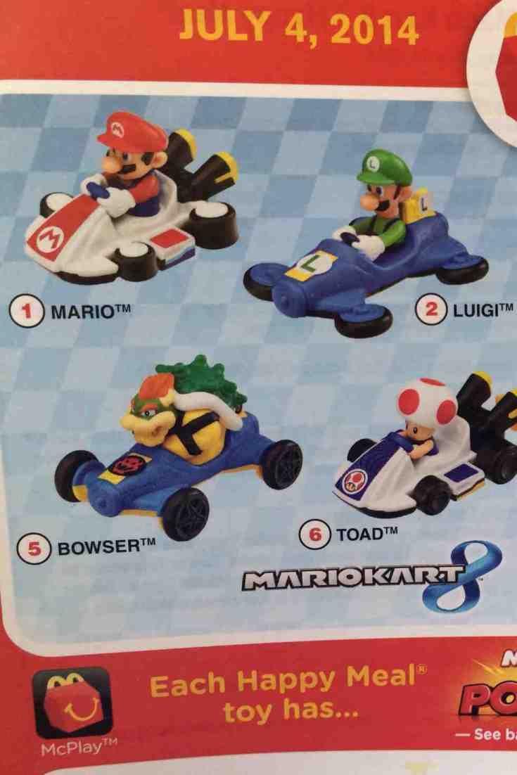McLanche Feliz terá brindes de Mario Kart