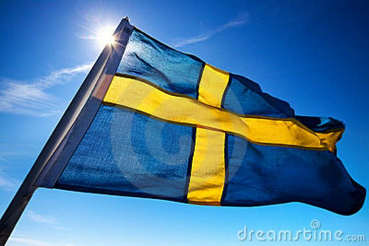 sweden flag colors meaning