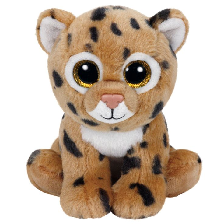 Ty Beanie Boo Freckles pluchen babydieren knuffel. Deze zachte kitten heeft een gevlekt vachtje en een glinstering in zijn ogen als hij je ziet.Afmeting: 19 x 13,5 x 9 cm - Ty Beanie Boo Freckles