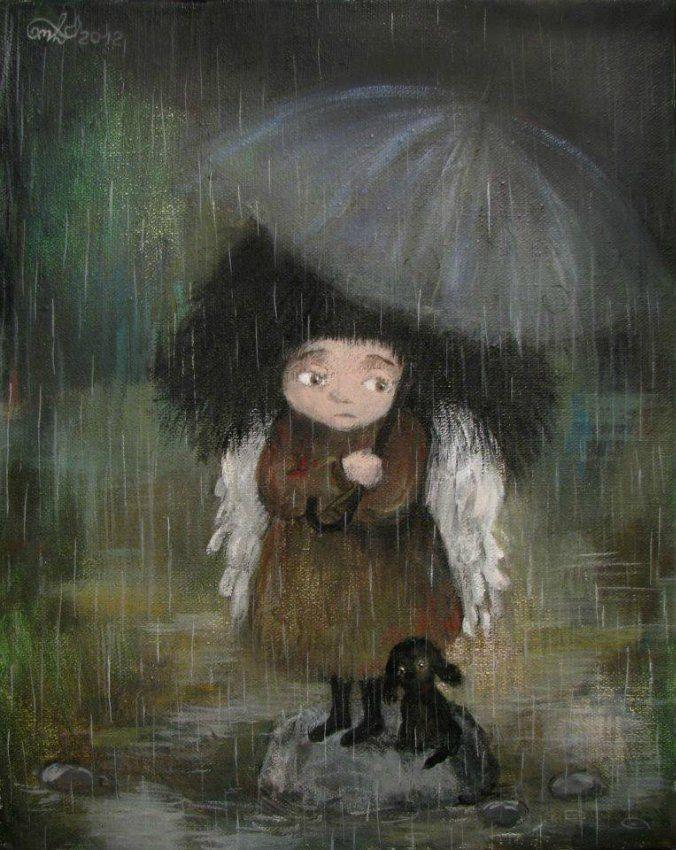 Children Paintings by Nino Chakvetadze