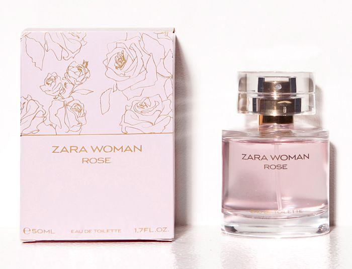 Rose Perfume from Zara, Madrid   Smelling like $100 for $10