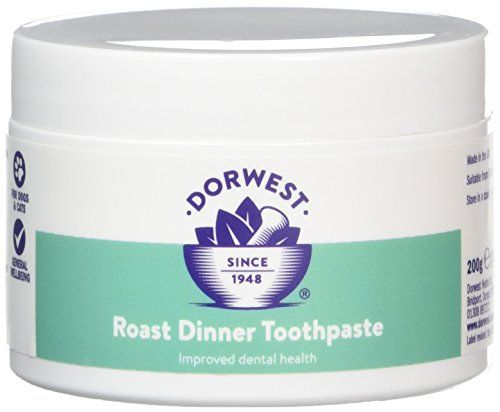 From 9.90:Dorwest Herbs Roast Dinner Toothpaste For Dogs 200g