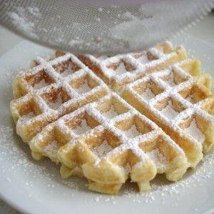 Homemade Waffles From Scratch. Yum!!