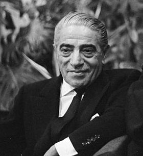 Aristotle Onassis - Jackie Kennedy Onassis' 2nd husband. Wiki - click on picture for info.