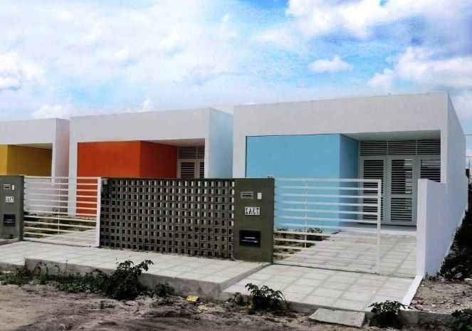 25 model pagar minimalis type 36 dengan desain | Rumah ...